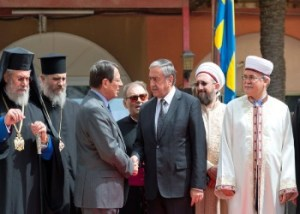 Leaders meet religious leaders image