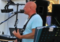 Barry Snakes performs at JK's Bar, Lapta Funday Saturday Event