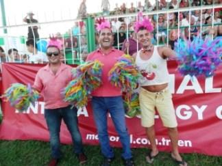 Cheerleaders - Savas from Sh Boom (Centre)
