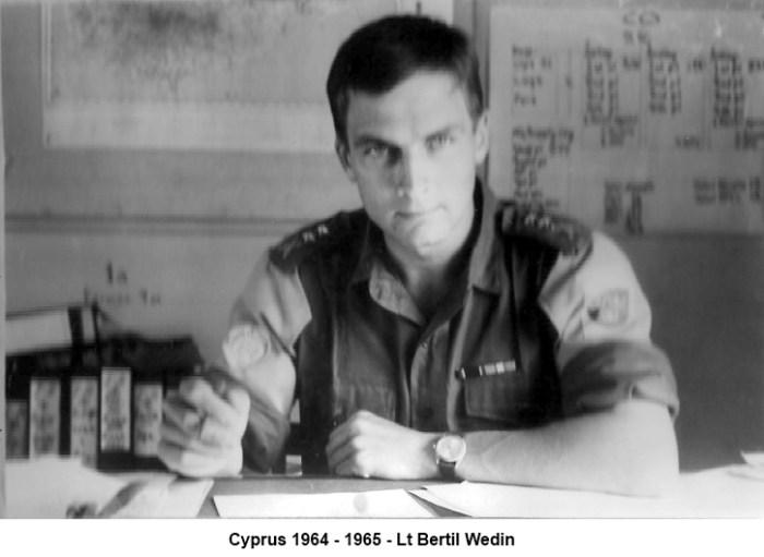 Cyprus Lt. Bertil Wedin