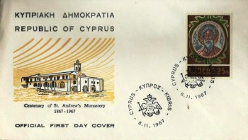 First day cover 14