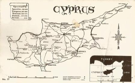 Samuel Middler Cyp[rus Map