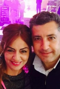 Dilek hanim and her husband Okan