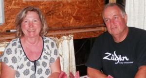 Eileen and Gavin Croucher - regular contestants