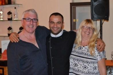 Jamie, Emrullah and Teresa