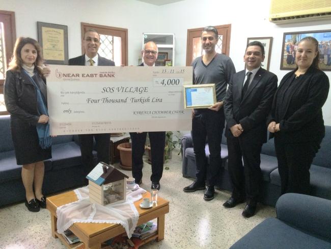 Kyrenia Chamber Choir donate to SOS Village