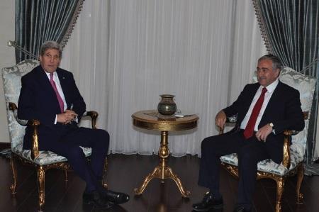 John Kerry and Mustafa Akinci