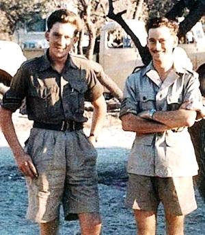 Roy Bailey and Tony Simmonds