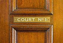 The Court door