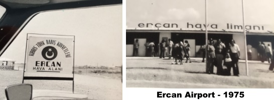 Ercan Airport 1975 - pefabricated terminal building