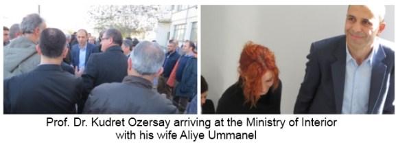 Kudret Ozersay with Aliye Ummanel