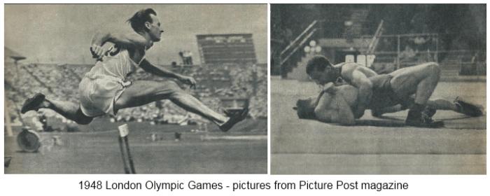 1948 London Olympics 1