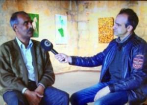 Ahmet Abdulaziz talks to Engin Dervisaga