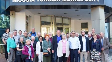 Harmanci receives delegation