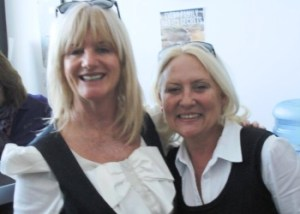 Denise Phillips and Martina Cole image