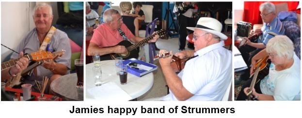 jamies happy bamd of strummers