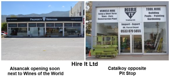Hire it Catalkoy and Alsancak