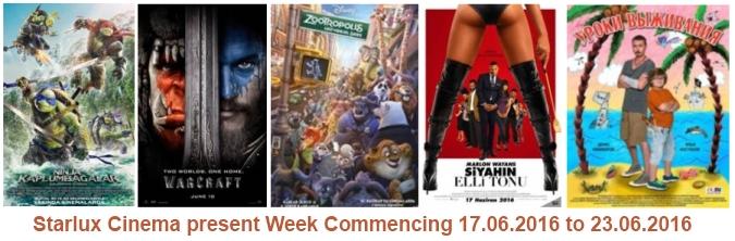 Starlux cinema 17th June