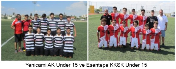Yenicami AK Under 15 Esentepe KKSK Under 15 pic 1