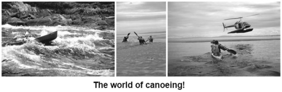 The world of canoeing
