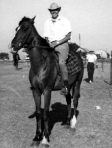john-on-prince-saddle-club-1961