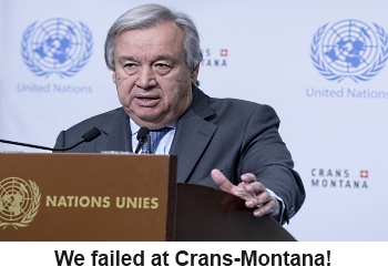 TRNC should celebrate the release from the Crans - Montana talks