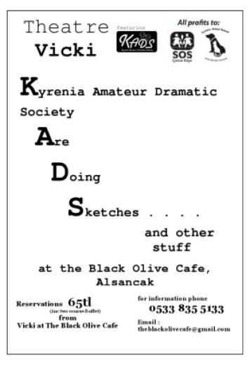 KADS) ARE DOING SKETCHES at Black Olive | CyprusScene com