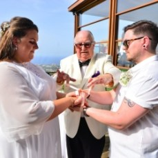 Billie and Corrie Wedding (6) image