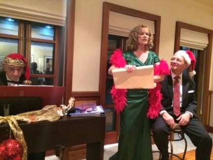 9 Demetra George the Christmas concert with US Ambassador John Koenig