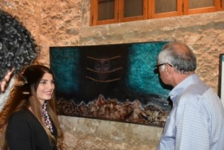 "Özlem Ekinci's ""İz"" painting exhibition (5)"