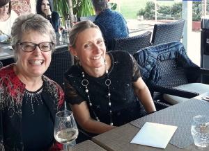 Lynda Hillard and Glenda Burroughs