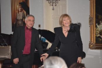 Rauf Kasimov and Demetra Mustafaoglu