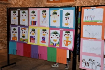 """""""Maximum Art, Minimum Risk Art Camp 2020"""" exhibition (1)"""