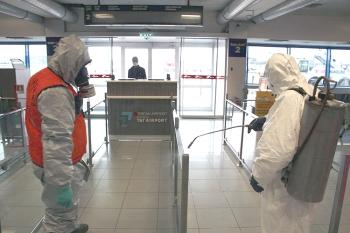 Ercan Airport Coronavirus control (5)