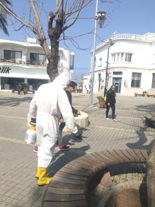 Girne Municipality Coronavirus control (5)