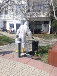 Girne Municipality Coronavirus control (7)