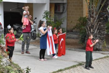 April 23 Music enjoyed by Girne residents from their Balconies (5)