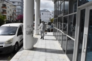 Girne Municipality Continues Urban Hygiene Works Continuously .. (4)