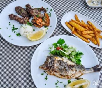 Tervetuloa Restaurant meal 2