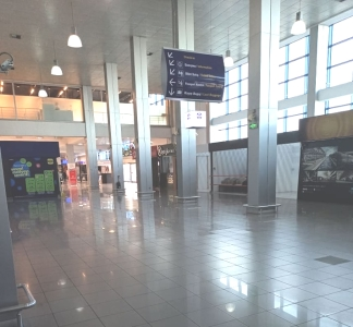 An almost empty Ercan Airport (5)