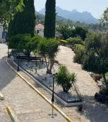 Bellapais Monastery and land cleaned by Girne Municipality (2) 2
