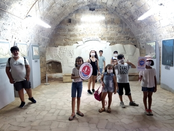 Girne Childersn Assemby visit to historical places (4)