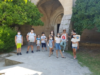 Girne Childersn Assemby visit to historical places (5)