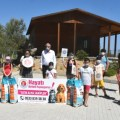 Girne Municipality Children's Council Visited the Animal Shelter (3) image