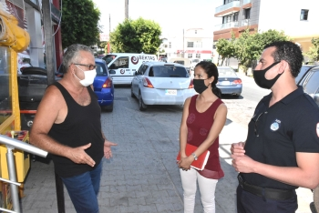 Girne Municipality and Girne District Governorship Inspected Markets and Cafes (6)