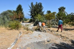 Girne Municipality clean the Ciklos area (1)