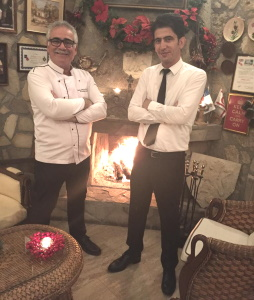 Selim the chef and waiter