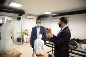 Lefkosa Mayor visit to ARUCAD (3)