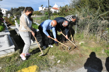 Girne Municipality Continues Tree Planting Works (5)