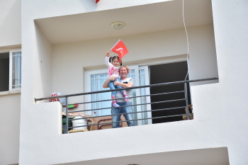 On National Sovereignty and Children's Day we meet the Balconies (1)